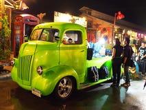 Loja do carro do vintage, Tailândia Foto de Stock