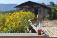 Loja do cofffee da montanha de Migic Foto de Stock