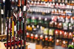 Loja do equipamento de pesca Foto de Stock