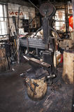 Loja do ferreiro das pessoas de 100 anos & x28; smithy& x29; no galeno histórico, Illinois Imagem de Stock Royalty Free