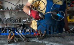 Loja do ferro forjado Fotos de Stock Royalty Free
