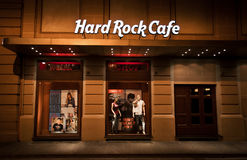 Loja do Hard Rock Café Foto de Stock