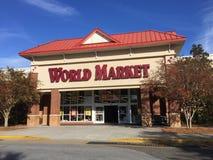 Loja do mercado mundial, Summerville, SC Fotos de Stock Royalty Free