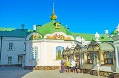 A loja do monastério Imagens de Stock Royalty Free