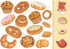 Loja do pão ilustração royalty free