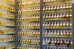 Loja do perfume, Médio Oriente Fotografia de Stock