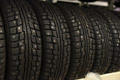 Loja do pneu Imagem de Stock