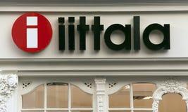 Loja do projeto de Iittala em Amsterdão Fotografia de Stock