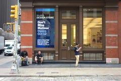 Loja do projeto de MoMA Imagens de Stock