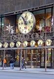 A loja do relógio de Tourneau na 57th rua em Manhattan New York Foto de Stock Royalty Free
