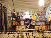 Loja do saco, Tailândia Imagem de Stock