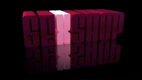 Loja do sexo Fotografia de Stock