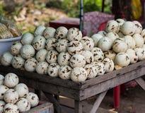 Loja do suco do coco em Tailândia Foto de Stock