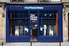 Loja do telefone móvel Foto de Stock
