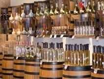 Loja do Tequila Fotografia de Stock