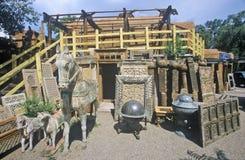 Loja do turista com as decorações do gramado em Santa Fe, nanômetro imagem de stock royalty free