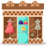 Loja do vestido Imagem de Stock Royalty Free