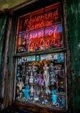 Loja do vudu do bairro francês de Nova Orleães Fotografia de Stock