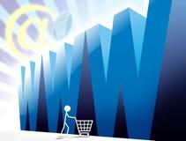 Loja do Web imagem de stock royalty free