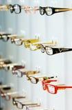 Loja dos ópticos Fotografia de Stock
