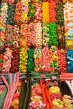 Loja dos doces imagens de stock