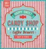 Loja dos doces. ilustração royalty free