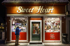 A loja dos doces Fotos de Stock