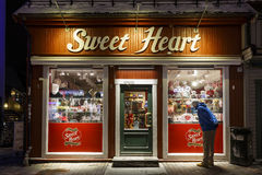A loja dos doces Imagem de Stock Royalty Free