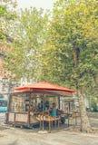Loja dos frutos no norte de Itália fotografia de stock