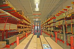 Loja dos materiais de construção. Foto de Stock