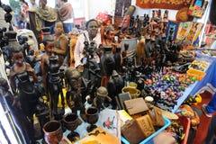 Loja dos ofícios de Tanzânia Fotos de Stock