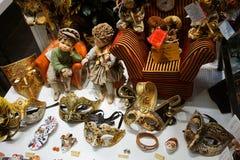 Loja dos souvernirs de Veneza Imagens de Stock