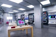 Loja eletrônica da TI fotografia de stock