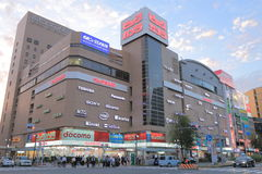 Loja eletrônica japonesa imagem de stock royalty free