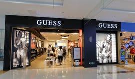 A loja famosa da roupa da suposição fotos de stock royalty free