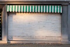 Loja fechado Fotografia de Stock