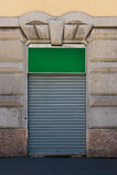 Loja fechado Foto de Stock