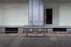 Loja fechado na cidade Imagens de Stock