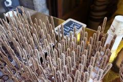 Loja francesa do chocolate em Lyon Imagens de Stock Royalty Free