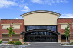 Loja genérica do centro comercial Fotografia de Stock Royalty Free