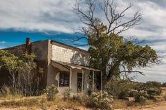 Loja geral Gleeson da cidade fantasma Fotografia de Stock