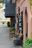 Loja histórica em Charleston Fotografia de Stock Royalty Free