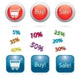 Loja icon2 Imagem de Stock Royalty Free