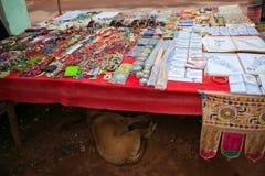 Loja indiana da rua Imagem de Stock