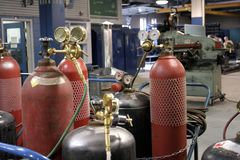 Loja industrial fotos de stock royalty free