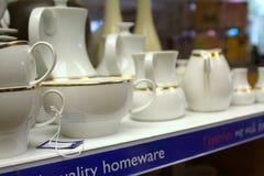 06 08 2015, loja interna da caridade da investigação do câncer em Linlinthgow em Escócia, Reino Unido Imagem de Stock Royalty Free