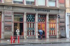 Loja inversa, Manhattan imagens de stock