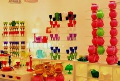 Loja italiana da cerâmica e da arte Imagens de Stock