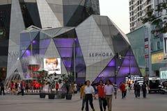 Loja nova Kuala Lumpur Malaysia de Sephora fotografia de stock