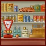 Loja retro Imagens de Stock Royalty Free